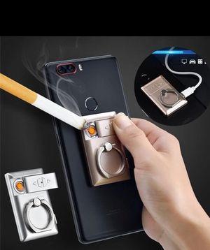 USB windproof phone holder cigarette lighter for Sale in Melville, LA