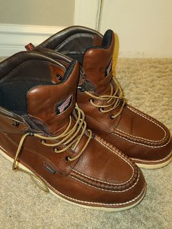 Red Wing Leather Moc Toe Boots Size 11.5 for Sale in Rancho Cucamonga,  CA
