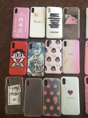 iPhone X case Buy 5 get 1 free for Sale in Houston, TX