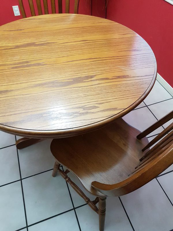 Table with two chairs