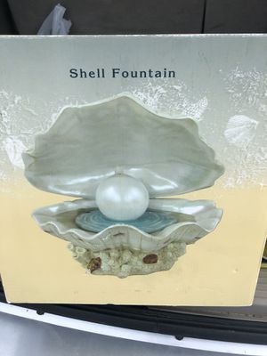 Shell/perl fountain for Sale in Boonville, IN