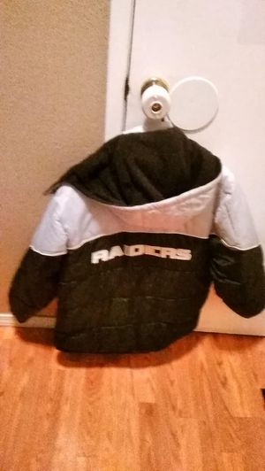 Raiders jackets reduced price for quick sale 30$ for Sale in Acampo, CA
