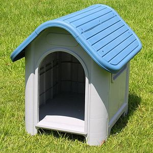 "(New In Box) $45 Plastic Dog House Small/Medium Pet Indoor Outdoor All Weather Shelter Cage Kennel 30x23x26"" for Sale in Whittier, CA"