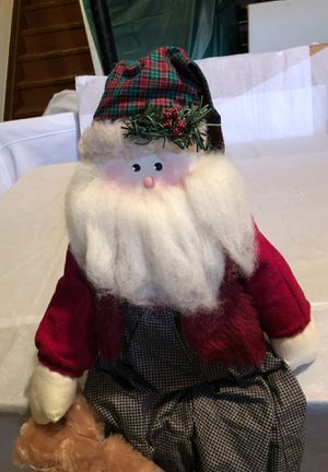 Weighted Sitting Santa Claus for Sale in Rochester Hills, MI