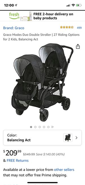 Graco Duo Modes Double Stroller for Sale in Littleton, CO