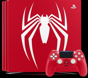 Limited spiderman edition ps4 pro for Sale in Hillsboro, OR