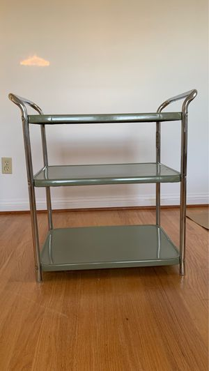 Vintage Bar Cart / Side Table / Shelving / Storage for Sale in Maple Valley, WA