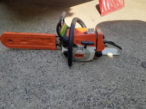 Stihl 026 chainsaw working conditions pick up only for Sale in Lynn, MA