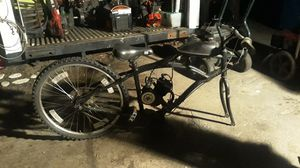 Bicycle with gas motor for Sale in Portsmouth, RI