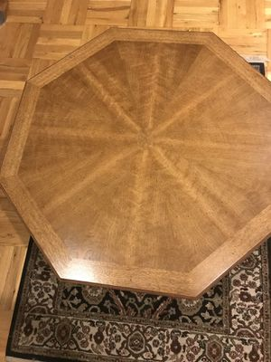 HEXAGON. OAK COFFEE TABLE for Sale for sale  New Rochelle, NY