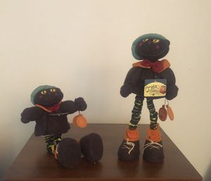 2 New Pumpkin Hollow Cat Characters for Sale in Winfield, IL