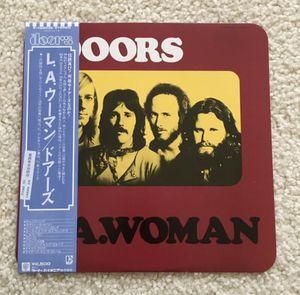 "The Doors ""L.A. Woman"" vinyl lp 1978 Electra Records Japan mint minus condition vinyl beautiful for Sale in Placerville, CA"