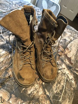 Cold weather combat boots for Sale in Oak Grove, KY