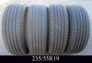 SET of FOUR MICHELIN LATTITUDE 235/55R19 tires for Sale in Warwick, RI