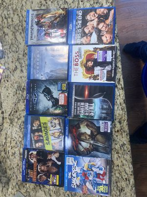 10 blue rays for $15 for Sale in North Royalton, OH