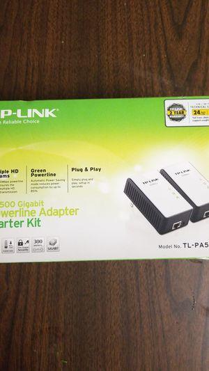 TP Link Powerline Adapter Gigabit for Sale in Pico Rivera, CA