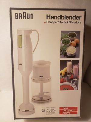 Braun Hand Blender, Immersion Blender, Chopper for Sale in Lake Grove, OR