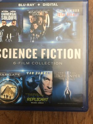 6 Science Fiction Movies digital copies for Sale in Winston-Salem, NC