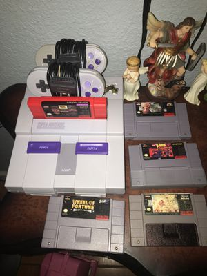 Super Nintendo .. for Sale in Duncanville, TX
