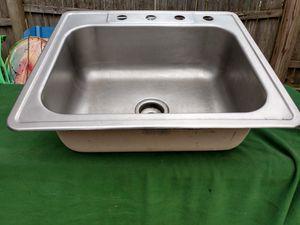 Stainless Steel Kitchen Sink for Sale in Trenton, NJ