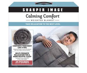 New Sharper Image 25lb weighted blanket for Sale in Philadelphia, PA
