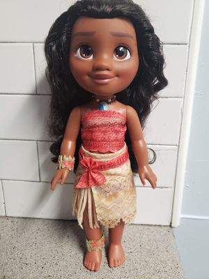 Moana adventure doll for Sale in Vero Beach, FL