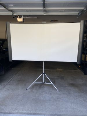 Folding movie screen (projector screen) for Sale in Tempe, AZ
