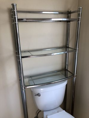 Bed Bath and Beyond Chrome Bathroom Shelf for Sale in Oreland, PA