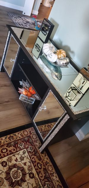 Desk console entertainment table for Sale in Houston, TX