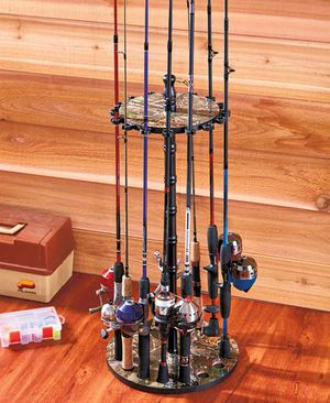 Realtree Fishing Rack Hold 16 Rods for Sale in Chillicothe, OH