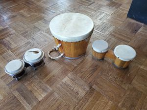 random drums set bongos tribal for Sale in Chino Hills, CA