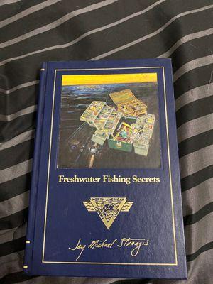 Book of fishing secrets for Sale in Lake Elsinore, CA