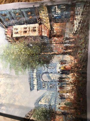Original painting signed by artist for Sale in Hemet, CA