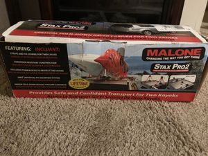 Malone Stax Pro 2 Kayak Rack for 2 Kayaks for Sale in Greenbrier, TN