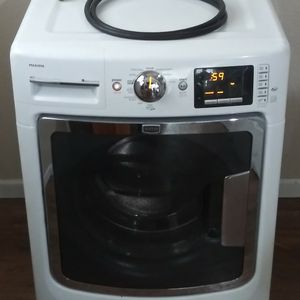WASHER WARRANTY ONE YEAR MAYTAG FRONT LOAD MAXIMA 11 CYCLES 5 TEMP 4 SOIL LEVEL 5 SPIN SPEED EXTRA RINSE STAIN CLEAN FRESH HOLD CYCLE SIGNAL CONTROL for Sale in Fort Worth, TX