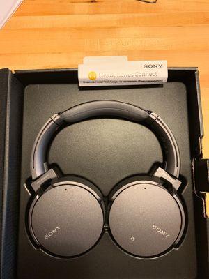 Open box-Sony Wireless/ Noise Cancelling headphones for Sale in Austin, TX