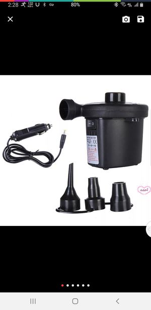 Car Inflatable Pump 12V Car Electric Air Pum for Boat for Blower AUGU24 for Sale in Turlock, CA