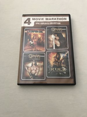 DVD 4 Movies 2 Disc Set Discs Like New for Sale in Reedley, CA