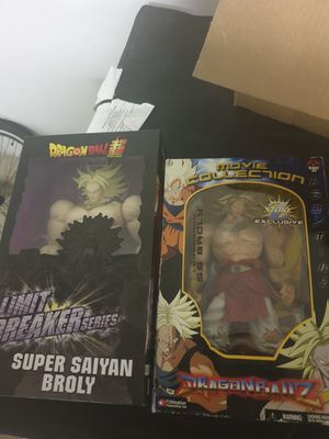 Dragonball z and masters of the universe for Sale in Skokie, IL