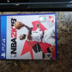NBA 2K 18 Ps4 for Sale in Fort Lauderdale, FL