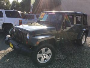 2007 Jeep wrangler sahara unlimited for Sale in Modesto, CA