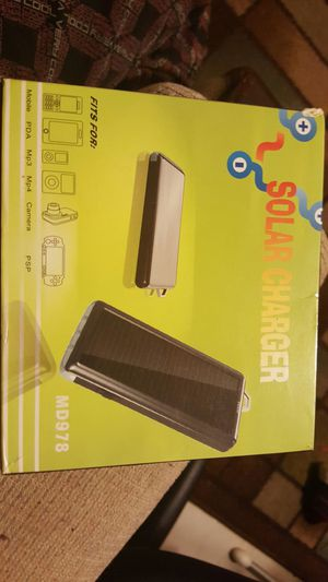New Mini LED Solar Charger for Cellphone, PDA, Laptop, PSP, Tablet PC for Sale in Staten Island, NY