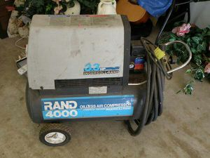 Rand 4000 Electric Oilless Air Compressor for Sale in Millersville, MD