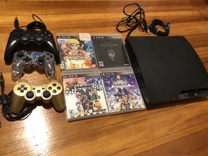 Play station 3 with 4 games for Sale in Cambridge, MA
