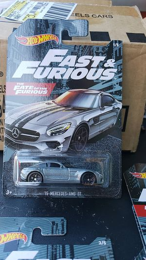 HOT WHEELS DIE CAST COLLECTIBLE FAST AND FURIOUS CARS $ 4 EACH PICK UP IN WHITTIER THANKS 😊 for Sale in Whittier, CA