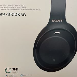 Sony WH-1000X M3 Noise Cancelling Headphones Bluetooth for Sale in Chandler, AZ