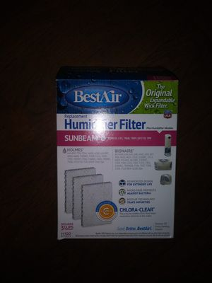 Humidifier filter for Sale in Durham, NC