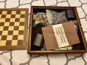 Board games , backgammon, chess, cribbage, dominoes , Checkers. for Sale in Land O Lakes, FL