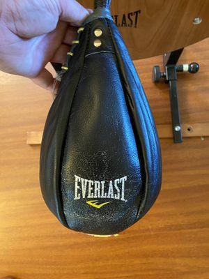 Everlast speed bag with platform for Sale in Beaverton, OR
