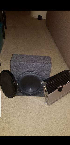 Jl sub and 700 watt amp for Sale in San Diego, CA